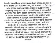 Paper can't win