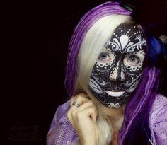 Hope Shots Photography Artist Unique Irish Model Corrie W. Sugar Skull Face painting