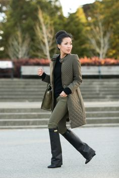 Afternoon at the Park :: Quilted coat