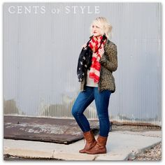 GREAT DEAL!!! Cents Of Style Stars and Strips Scarf just $4.99 Shipped  This scarf is regular $30 .  Sale ends 11/3/13