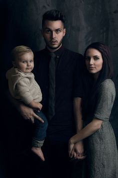 This is Hunter Leone, the photographer for Three Nails Photography, and his wife and kid :)