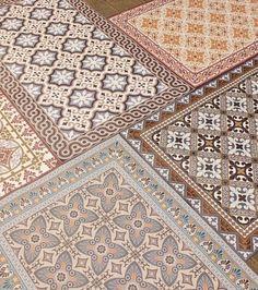 Painting Tile Floors, Painted Floors, Tile Decals, Dimensions, Tiles, Mosaic, Bohemian Rug, Flooring, Paris