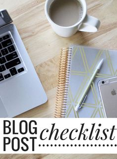 5 things to do every time you publish a blog post + a FREE checklist. Click through to get these tips and download the free PDF printable!