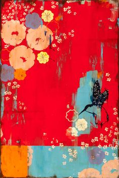 Kathe Fraga - Romantic paintings inspired by France. Link to her website. #art #color #design