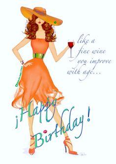 🎂🎈Like a fine wine you improve with age...