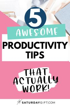 Do you find yourself procrastinating way too often? Do you start cleaning when you should be tackling a big project and scrolling through your Facebook feed when you should be cleaning? If you want to know how to be more productive instantly, here are 5 simple tips that can help you beat procrastination and help you tackle those tasks on your to-do list.