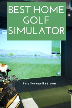 Check out our home golf simulator reviews and learn more about the different simulators you can avail in the market today. Home Golf Simulator, Golf Simulators, Best Golf Courses, Improve Yourself, Marketing, Learning, Check, Studying, Teaching