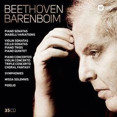 Daniel Barenboim - Complete Beethoven: Symphonies, Overtures, Concertos, Missa Solemnis, Fidelio, Diabelli Variations, Piano,...