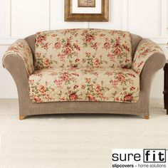 @Overstock.com - This Lexington Floral pet throw from Sure Fit is an easy and budget-friendly way to protect your furniture from pet fur and stains. And, with a pleasing floral pattern, this sofa cover is a nice way to update your decor at the same time. http://www.overstock.com/Home-Garden/Sure-Fit-Lexington-Floral-Furniture-Friend-Sofa-Cover/7549536/product.html?CID=214117 $50.00