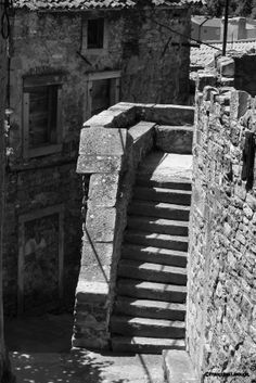 Escalier Labin istrie Croatie. Photo ©2013 Françoise Larouge