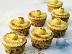 Try baking these lemon Simnel cupcakes for Easter, they're great to gift to friends or family. Get the recipe on the Waitrose website. Cupcake Recipes, Baking Recipes, Baking Ideas, Kitchen Recipes, Easter Biscuits, Muffins, Easter Cupcakes, Easter Treats, Mini Cakes