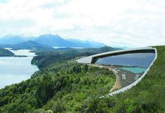 "not sure how I feel about this but it sure looks pretty -- ""Eco Friendly"" Hilton to be Built in Bariloche, Argentina"