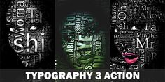 Please watch the video above for demonstration of how to use and customize the look of your action to get the most out of the effect.   Typography 2 is available here.   Typography 3 is avail...