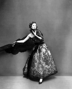 Suzy Parker in Christian Dior by Richard Avedon, Paris, 1956