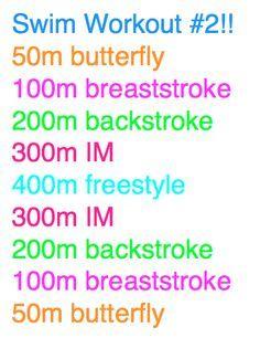 crescendo swim workout