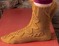 Вязание носки / Вязание спицами / Вязание спицами для начинающих