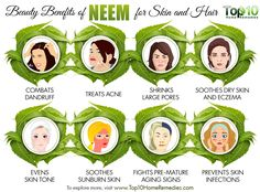 Neem is a mysterious aromatic plant that not only assists in treating skin problems but also scalp and hair problems efficiently and undamaged. Skin Care Home Remedies, Top 10 Home Remedies, Home Remedies For Hair, Neem Benefits, Yogurt Benefits, Neem Oil For Hair, Sunburn Skin, Herbal Oil, Best Oils