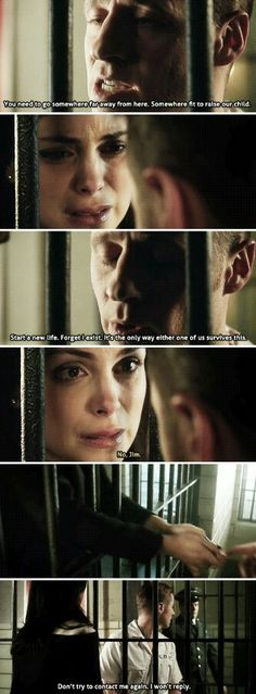 """""""Start a new life. Forget I exist. It's the only way either one of us survives this"""" - Jim and Leslie Saddest part of this episode! Morena Baccarin Gotham, Gotham Season 2, Gotham Tv Series, Gotham Girls, New Life, Dc Comics, Survival, Forget, It Cast"""