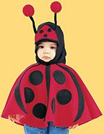 ladybug costume that would fit over a jacket