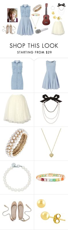 """""""Grace Vanderwaal - Quarterfinals"""" by lydiaschley ❤ liked on Polyvore featuring Dorothy Perkins, Alice + Olivia, Lanvin, Anne Klein, Michael Kors, Tiffany & Co., Sennheiser, Ippolita and Fremada"""