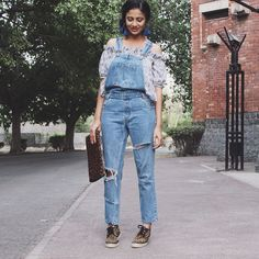The Style Tune: Overalls florals and animal Instinct