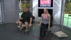 Beginner workouts for the obese or mobility challenged. http://www.youtube.com/watch?v=K-iKrlw00Dw=share=PL-3ha1N51FWOHt_G7xKX_Eq_94_NFsVk1