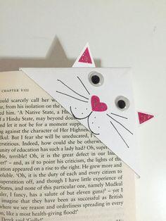 cat corner bookmark - Google Search Mais