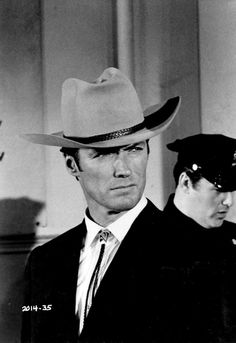 """Clint Eastwood in Coogan's Bluff, 1968. """