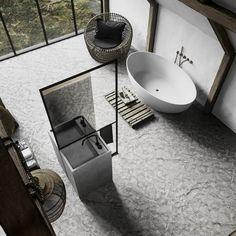 high_end_bathroom_design_luxury_bathroom_design_homedecor_byCOCOON.com_black_tap_ware_inox_bathroom_fittings (1) Large Bathroom Design, Bathroom Design Luxury, Bathroom Layout, Bathroom Ideas, Bathroom Interior, Small Bathroom, Master Bathroom, Boutique Bathroom, Marble Bathtub