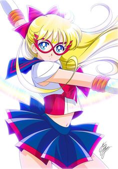 Sailor v Sailor Venus Code name wa Sailor V Sailor Moon Mina Aino Minako Aino Sailor Venus, Sailor Moon Girls, Arte Sailor Moon, Sailor Moon Fan Art, Sailor Neptune, Sailor Saturn, Sailor Moon Crystal, Sailor Mars, Sailor Scouts