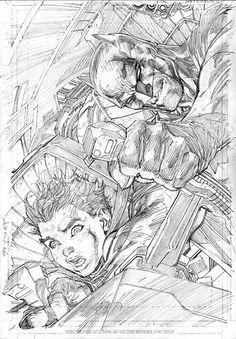 All Star Batman #04 | Jim Lee Comic Book Artists, Comic Book Heroes, Comic Artist, Comic Books Art, Jim Lee Batman, Batman Batman, Batman Arkham, Batman Robin, Comic Character