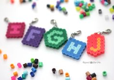 Create your own stitch markers with this quick and crafty tutorial! Made out of perler beads (also called fusion beads and hama beads), each one has the crochet hook letter size so if you put down your crochet project for awhile, you will always know which hook to use when you do get around to …