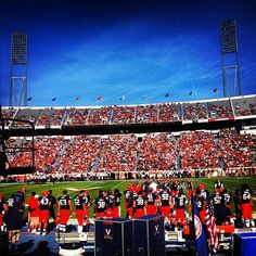 #UVa #football v. Maryland
