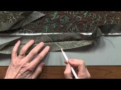 Quilt Binding 3 of 4: Joining the Ends - YouTube