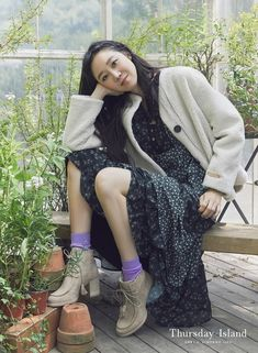 Gong Hyo Jin, Sweaters, Beauty, Dresses, Style, Fashion, Vestidos, Swag, Moda