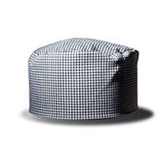 e47ca30e3e9 This Chef Revival Flat Top Baker s Cap needs no ironing and is also  available in pinstripe