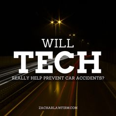 """Will Technology In Cars Really Help Prevent Car Accidents?  This technology would improve safety by allowing vehicles to """"talk"""" to each other and ultimately avoid many crashes altogether by exchanging basic safety data, such as speed and position, ten times per second.  Keep Reading: - http://www.zacharlawblog.com/2014/02/vehicle-to-vehicle-communication-will-it-prevent-accidents.html"""