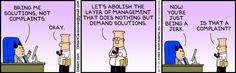 Lösungen statt Beschwerden ...