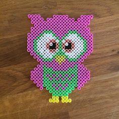 Owl perler beads by mioumydarling