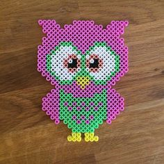 Owl perler beads by mioumydarling
