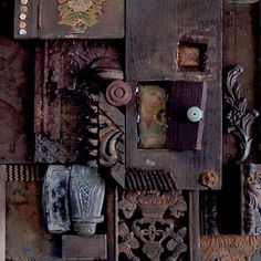 mixed media assemblage art retreats 2016 - Bing images