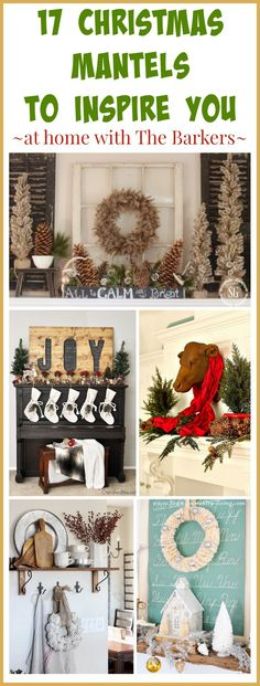 17 Christmas Mantels to Inspire You