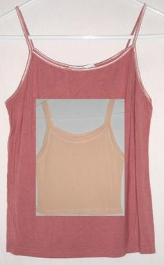 """$10.00 Two Summer Tops One Peach and One Dark Pink Fit up to 36"""" Bust Size Medium Free Shipping"""