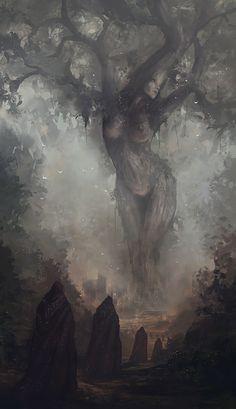 Prayers of mother nature, Jesse Keisala on ArtStation at https://www.artstation.com/artwork/ozGJ