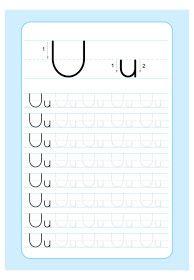 Letter Writing Worksheets, Printable Handwriting Worksheets, Alphabet Tracing Worksheets, Printable Preschool Worksheets, Kids Math Worksheets, Alphabet Activities, Preschool Activities, Preschool Writing, Kindergarten Learning