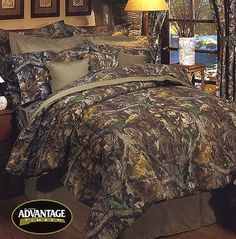 CAMO BEDDING | ... - camouflage bedding - realtree advantage timber - EZ/comforter sets