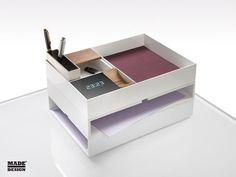 Boite de rangement pour fourniture de bureau MELBOURNE by Francesc Rifé Made Design
