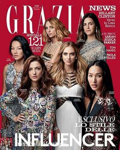 @Regrann from @misschiaraferragni - @grazia_it magazine cover Congrats girls!  #chiaraferragni #graziaitalia #magazine #cover #2016 #autumn #style #hairstyle #fashion #fashionista #fashionblogger #model #modellife #love #bellissima @chiaraferragni...