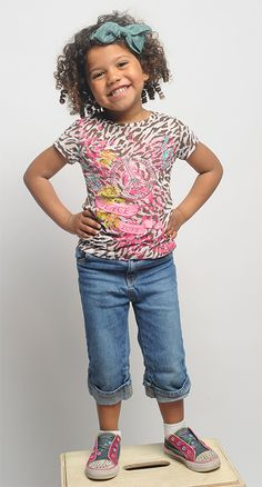 Kid friendly fashion from Goodwill!