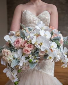5478 best wedding bouquets images on pinterest in 2018 bridal pastel pink and white wedding bouquet mightylinksfo